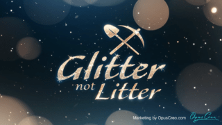 Glitter not Litter – Logo Sting